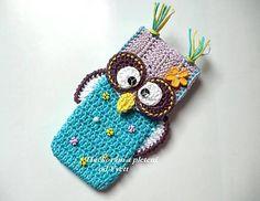 crochet cell phone cover