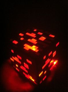 Minecraft Light Up Redstone | Community Post: 15 Incredibly Unique Minecraft Toys That'll Take Your Geekiness To New Levels