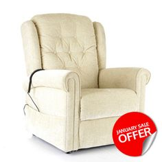 The good looking and comfortable Henley Riser Recliner is available from £425 at CareCo!