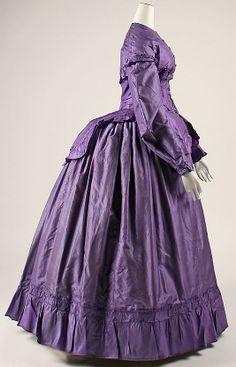 Dress late 1860s