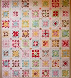 Porch Swing Quilts: Third Quarter FAL using Sew Cherry!...I love it!
