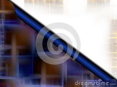 Abstract correspondence image in blue hues with space for writing. Colorful abstract texture and background.