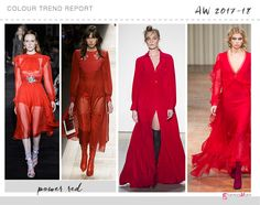 red color trend