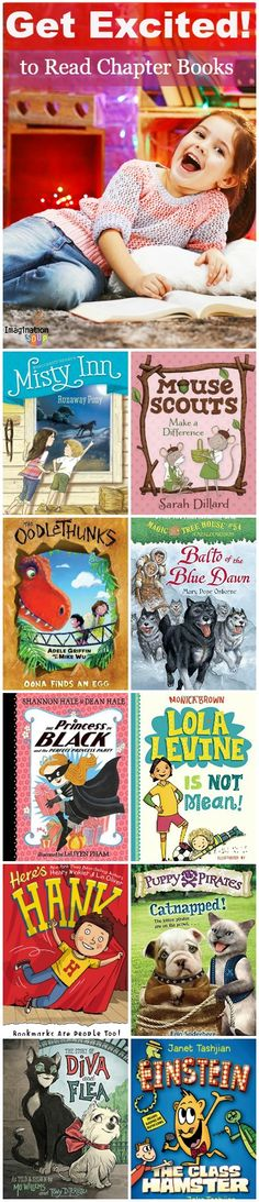 New Beginning Chapter Books to Build Reading Momentum | Imagination Soup