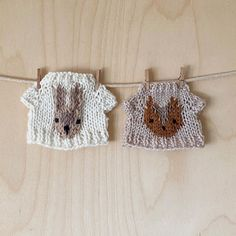 Luckyjuju (one word, not two) ( Clothes Line, Doll Clothes, How To Purl Knit, Knit Purl, Cat Sweaters, Doll Maker, Handmade Toys, Hand Knitting, Crochet Earrings
