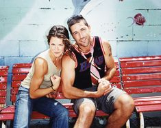 - Matthew Fox and Evangeline Lilly