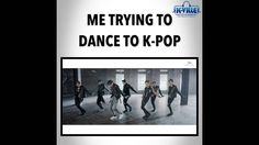Trying to Dance to K-Pop (Funny K-Pop Vine)