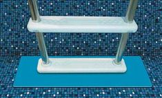 Above Ground Pool Step and Ladder Liner Pads #steps #poolstairs #pooltime #poolladder