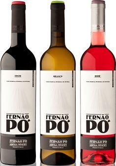 Fernão Pó wine label design by dodesign at Wine & Shine.com #taninotanino #vinosmaximum