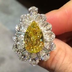 Breathtaking@Regrann from @setarediamonds -  Beautiful and classic David Mor designs! A unique ring centered upon a 10.49 carat fancy intense yellow pear shape diamond. #DavidMorJewelry #yellowdiamond #diamonds #jewelry  #handcrafted #jewels #flawless #luxury #fancy #finejewelry #luxury #rare #love #style #precious #highjewelry #beauty #platinumjewelry #beautiful #instajewelry #accessories #highjewelry #uniquejewelry #design #jewelryofinstagram #instajewelry #Regrann