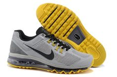 newest d09ad 35e02 Buy New Arrival Discount Nike Air Max 2015 Mesh Cloth Man s Sports Shoes -  Silver Gray Yellow from Reliable New Arrival Discount Nike Air Max 2015  Mesh ...