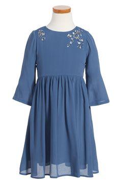 ilovegorgeous 'Cherry Blossom' Long Sleeve Dress (Toddler Girls, Little Girls & Big Girls) | Nordstrom