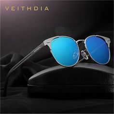3da0266dab89 Unisex Retro Aluminum Brand Sunglasses Polarized Sunglasses, Cat Eye  Sunglasses, Mirrored Sunglasses, Sunglasses