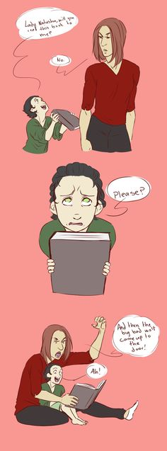 // Part 8 - Backfire - Young!Loki //