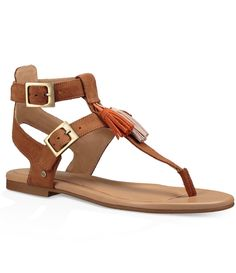 3798812e706614 Shop for UGG® Lecia Tassel Thong Sandals at Dillards.com. Visit Dillards.