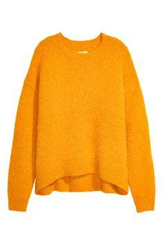 Jersey en mezcla de lana - Amarillo 49,99 EUR | H&M