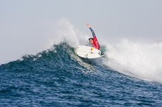 Quarterfinalist Jordy Smith. Photo: ASP Wide World, Pro Cycling, World Of Sports, Rip Curl, Surfing, Boat, Vacation, Adventure, Outdoor