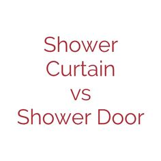 Re-Bath Omaha Design Consultant, Colin, discusses the differences between a shower curtain vs a shower door. From controlling water to over all design, he breaks down the choices for your shower remodel. Shower Remodel, Shower Doors, Design Consultant, All Design, Choices, Bath, Curtains, Bathing, Blinds
