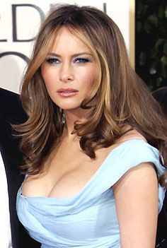 Melania Trump, a Slovenian-born model, jewelry and watch designer and our First Lady Donald Trump Family, Melania Knauss Trump, First Lady Melania Trump, Melania Trump Hair Color, Melania Trump Model, Malania Trump, Donald And Melania, Ivanka Trump, Models