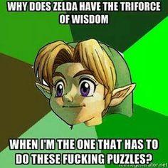 The legend of zelda funny