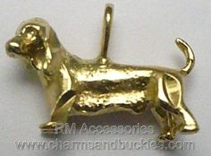 DACHSHUND HOT DOG WIENER 3d Charm