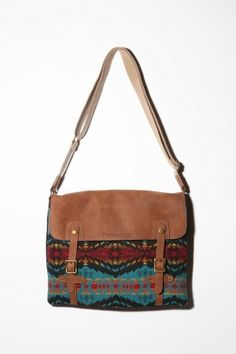 Pendleton Messenger Bag -- Holly Wants! Pendleton Bag, Mk Bags, Tote Bags, Native American Fashion, Purses And Bags, Jean Purses, Urban Outfitters, Fashion Accessories, Satchel