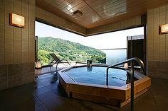 【静岡県 湯河原温泉】ホテル東横  -箱根の山々を一望する絶景の湯宿
