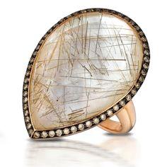 Doves Jewelry rutilated quartz ring