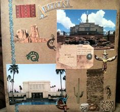 Arizona temples and fans