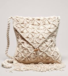 AEO Macrame Bag