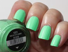 China Glaze Sunsational swatches: Highlight Of My Summer