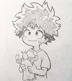 """Anime and Manga drawing ✒️ on I nstagram: """"New sketch of Midoriya! 🤩 As in the survey the majority voted to upload the sketches of my drawings I will try to do more often and see a…"""" Anime Character Drawing, Manga Drawing, Manga Art, Character Art, Manga Anime, Anime Art, Sketch Drawing, Anime To Draw, Drawing Art"""