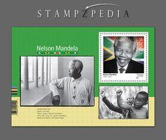 Souvenir Sheet. Black History Month - Nelson Mandela. Canada Post 2015 Stamp Issue.