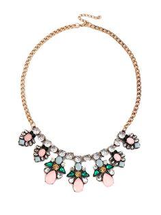 Shiny Rhinestone Luxury Pendant Necklace For Women & Jewelry - at Jollychic