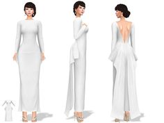 Daily new release | marketplace.secondlife.com/p/Full-Perm-L… | Flickr Long Gown Dress, Perm, Gowns, Dresses, Wavy Perm, Gown, Nightgown, Vestidos, Evening Gowns