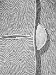 Domenico Gnoli [1933 – 1970, pittore, illustratore e scenografo italiano]