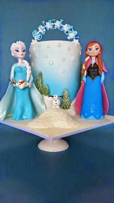 Sucre de Maduixa: Pasteles Disney para vuestros niños: Frozen
