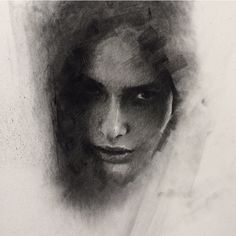 Instagram media by caseybaugh - Unfinished stage ➰. #art #charcoal #pastwork