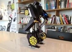 Transform Robot goes from RC car to humanoid.