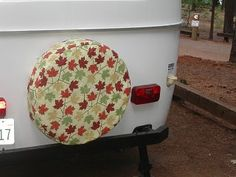 How to make a spare tire cover :-)