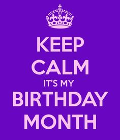 I can do what i want its my birthday month keep calm and carry on keep calm its my birthday month another original poster design created with the keep calm o matic buy this design or create your own original keep calm thecheapjerseys Gallery