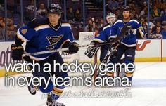 Hockey teams playing the Hawks