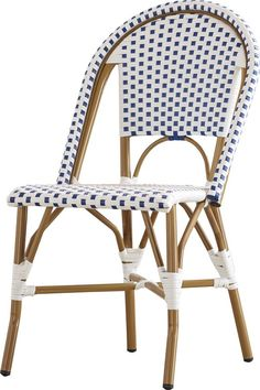 Lucia Stacking Patio Dining Chair with Cushion