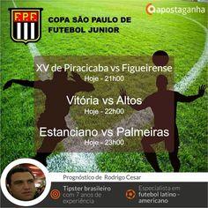 A Copa São Paulo de Futebol Junior continua a toda prova aqui no Apostaganha... Confiram os prognósticos do nosso Super Especialista Rodrigo Cesar...  http://www.apostaganha.com/2016/01/05/prognostico-apostas-xv-de-piracicaba-vs-figueirense-copa-sao-paulo-11/  http://www.apostaganha.com/2016/01/04/prognostico-apostas-vitoria-vs-altos-copa-sao-paulo-111/  http://www.apostaganha.com/2016/01/04/prognostico-apostas-estanciano-vs-palmeiras-copa-sao-paulo-11121212/  Já conheces a Betboro? Uma casa…