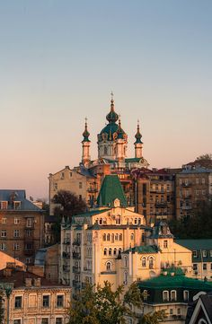St. Andrew's and Andrew's Descent, Kiev, Ukraine by Roads Less Traveled Photography