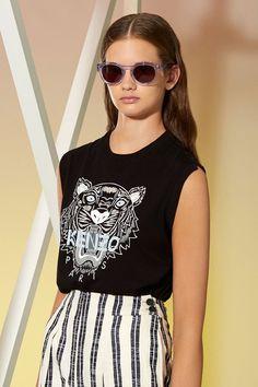 Kenzo Tiger Tank - Kenzo Tshirts & Shirts Women - Kenzo E-shop