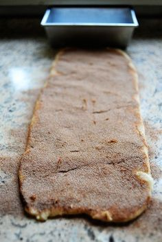 Pioneer Woman's cinnamon bread. AMAZING btw. You'll never make cinnamon toast the same way again. Ever. Like never.