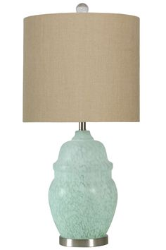 Cairns 35'' Table Lamp with Drum Shade