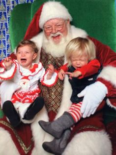 Sent in by Lisa B. from Goshen, IN. Send us your bad Santa photos!