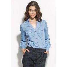 Look at this Blue V-Neck Button-Front Top on today! Dressing, Mademoiselle, Blue V, Business Attire, Timeless Elegance, Elegant Woman, Casual, One Piece, V Neck